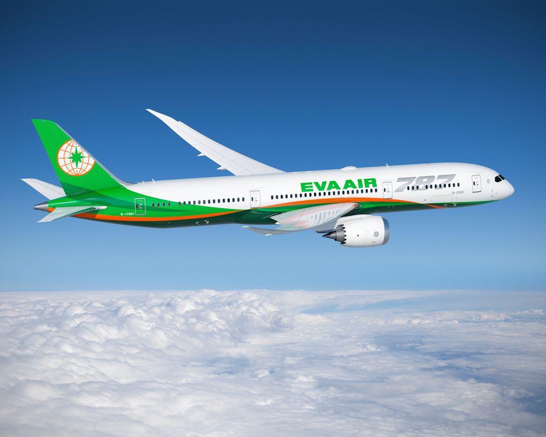 самолеты EVA Air