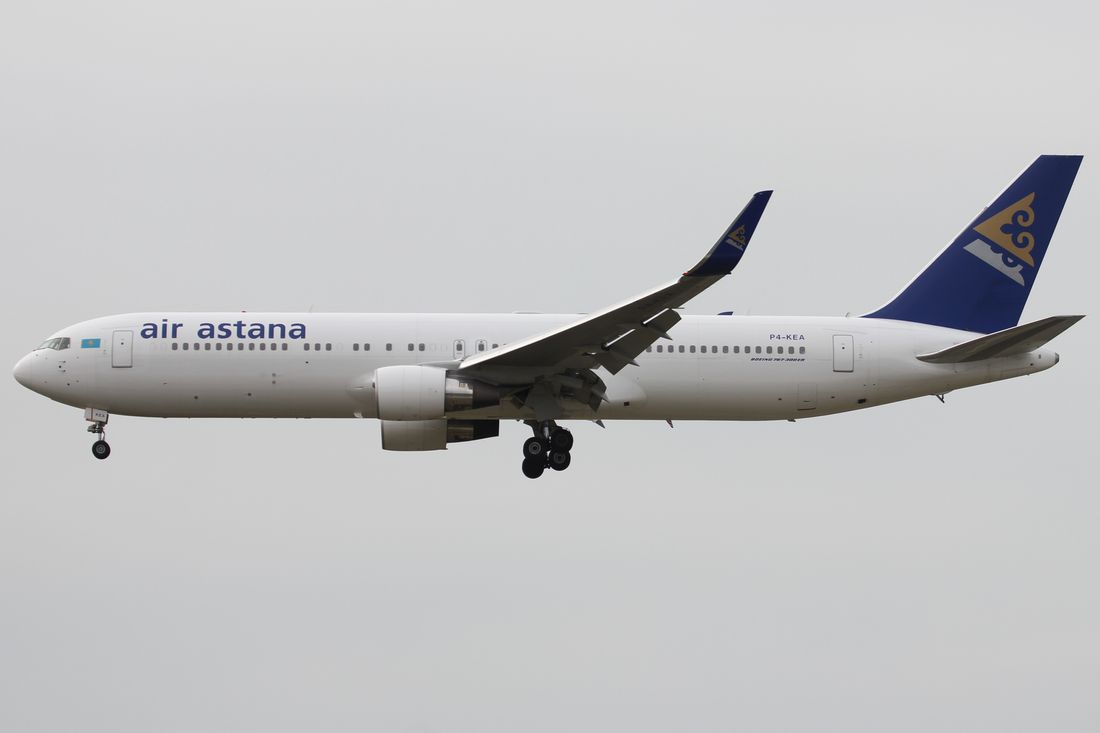 Air Astana Flotte