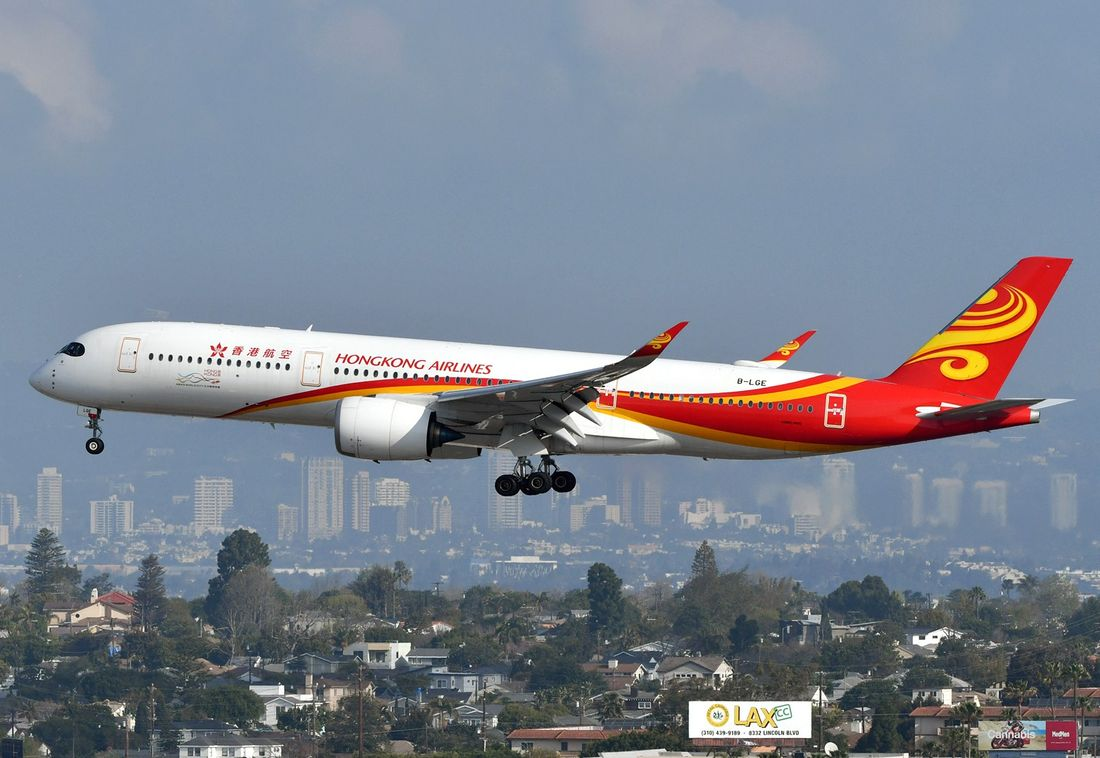 самолеты Hong Kong Airlines