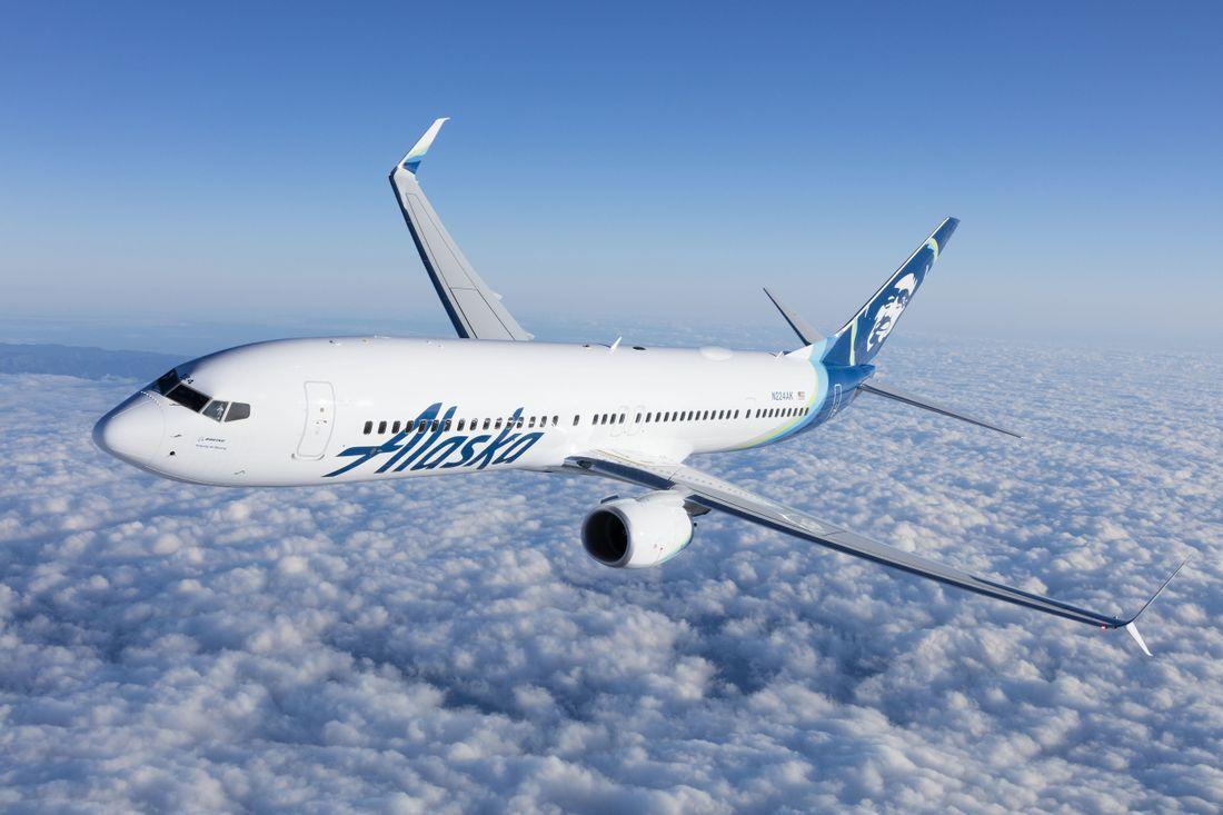 flota de Alaska Airlines