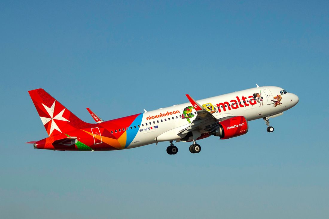 самолеты Эйр Мальта