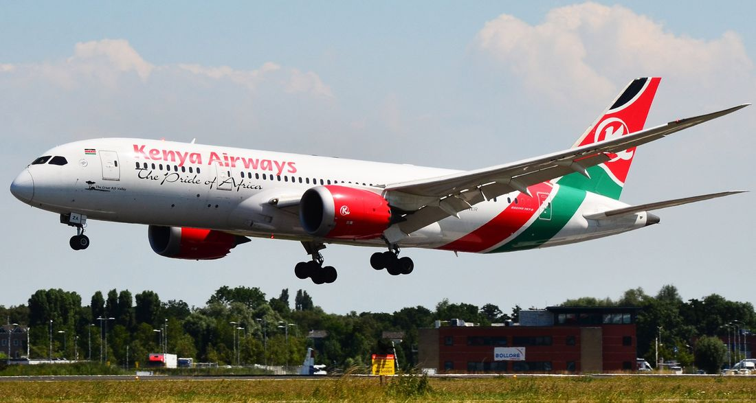 flota de Kenya Airways
