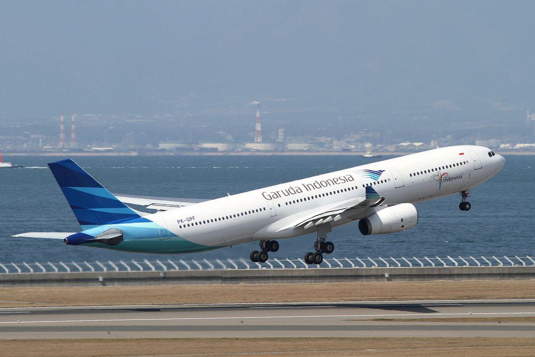 flota de Garuda Indonesia