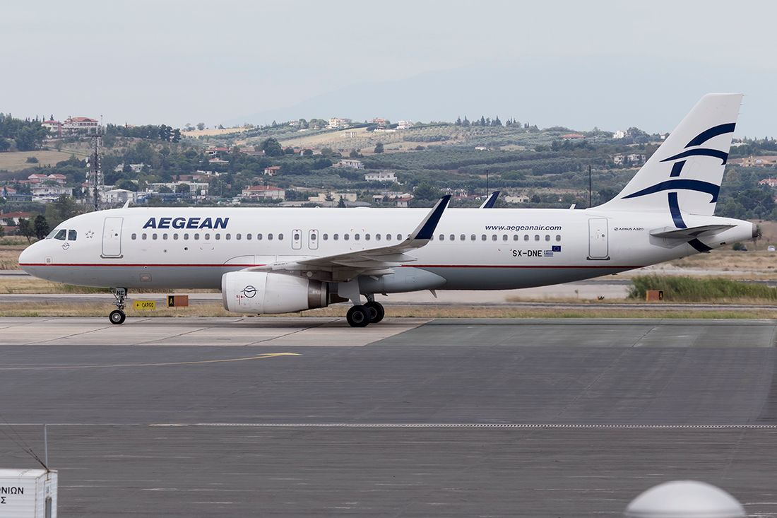 Aegean Airlines fleet