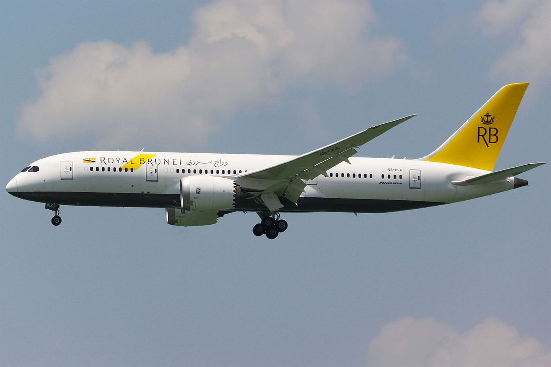 flota de Royal Brunei Airlines