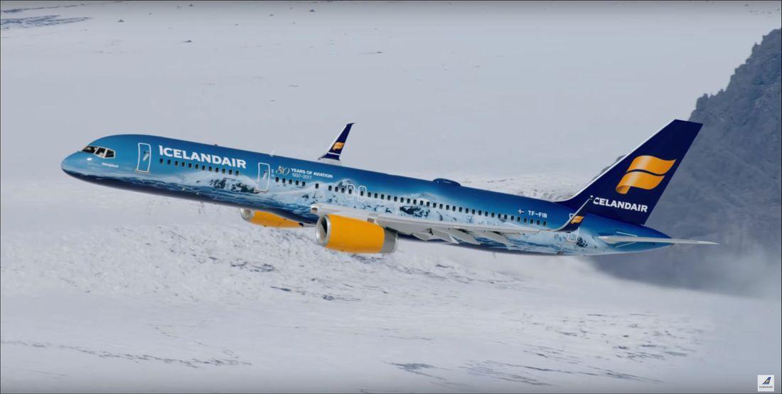 Icelandair fleet