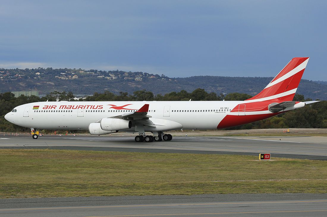 flota de Air Mauritius