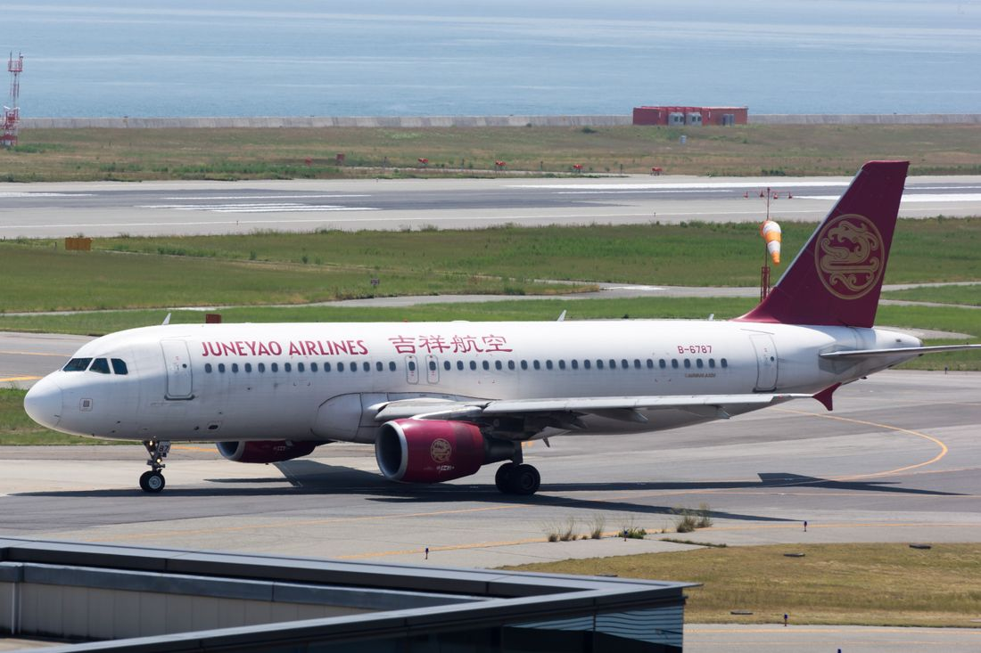 Juneyao Airlines fleet