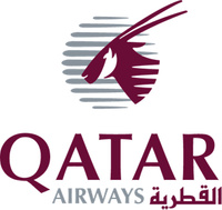 logotipo de la Qatar Airways