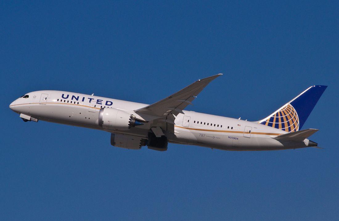 самолеты United