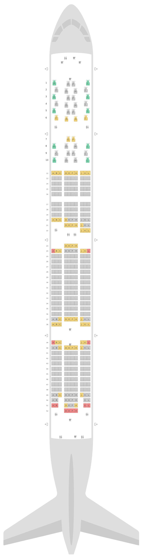 Sitzplan Boeing 777-300ER (77W) LATAM