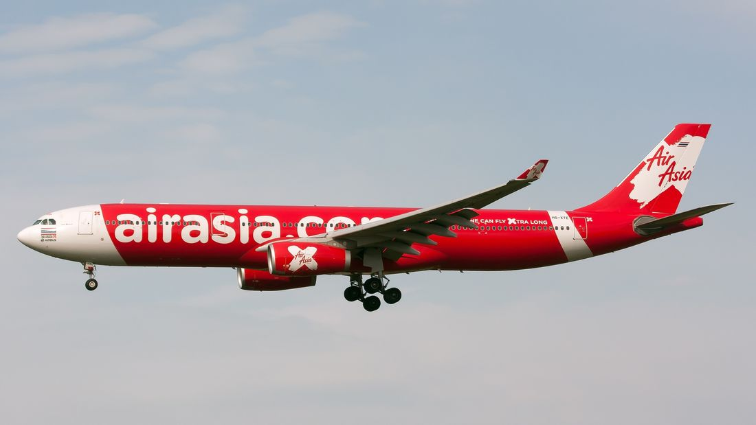 самолеты AirAsia X