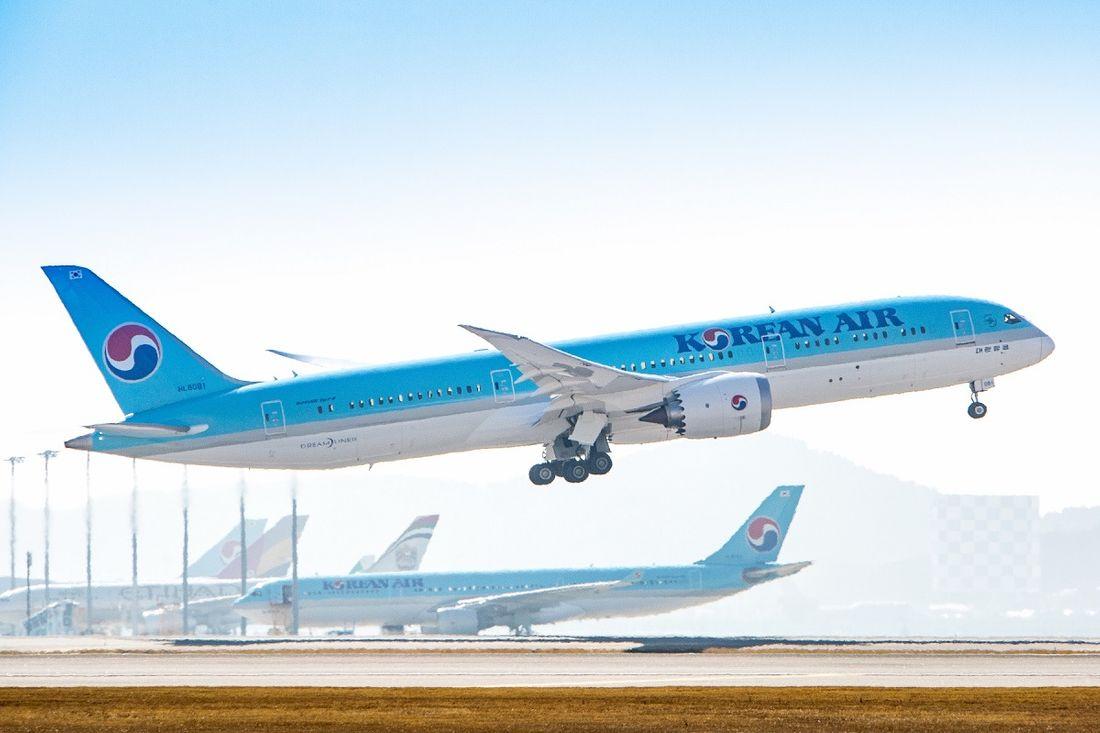 самолеты Корейские Авиалинии