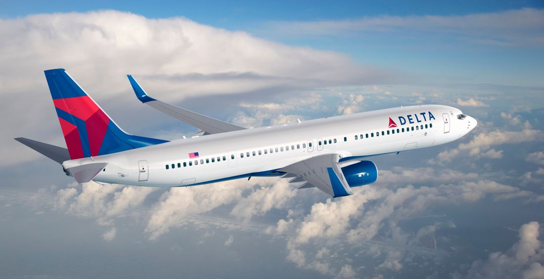 самолеты Delta Air Lines
