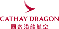 logotipo de la Cathay Dragon (Dragonair)