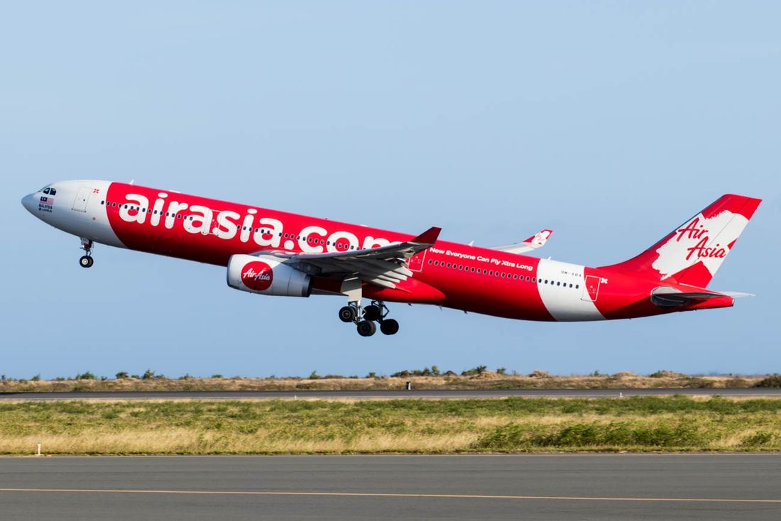 самолеты Эйр Азия