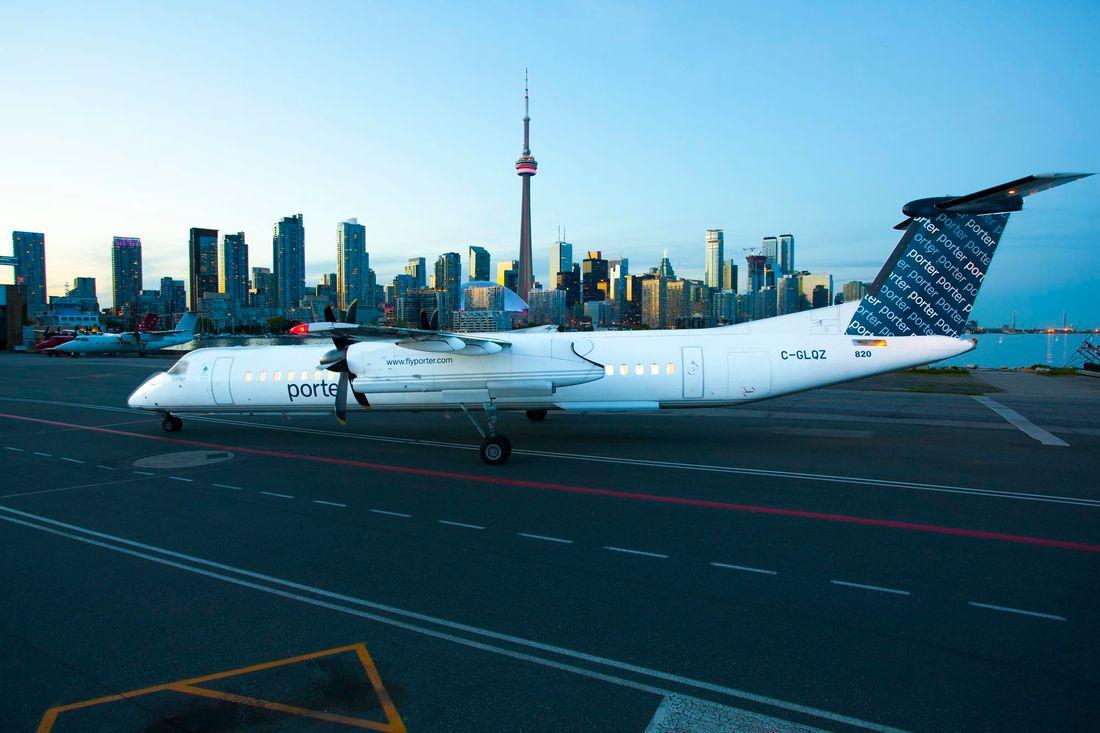 flota de Porter Airlines